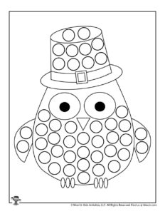 St Patricks Dot Marker Coloring Sheet for Pre-K