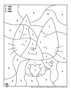 Valentine's Day Printable Coloring Page for Kids