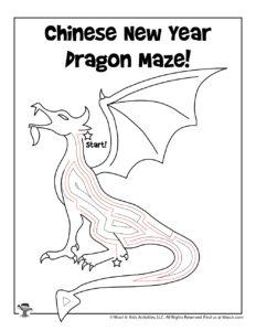 Zodiac Dragon Maze Puzzle - KEY