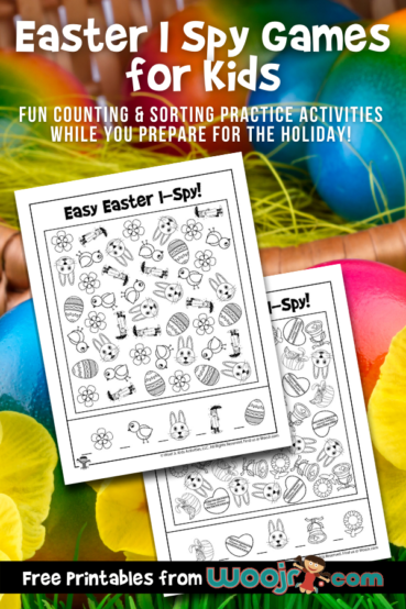 Easter I Spy Games for Kids