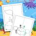Ocean Mirror Drawing Worksheets