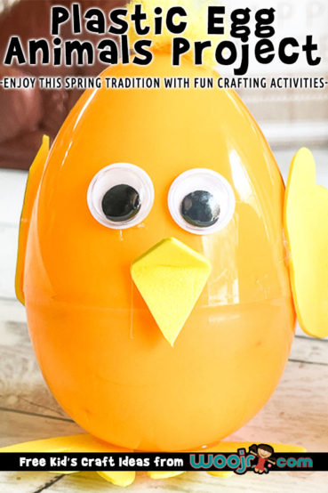 Easter Egg Animal Craft Project