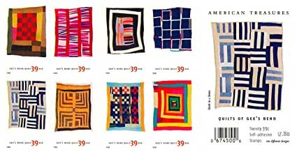 USPS Stamps of Gee's Bend Quilts