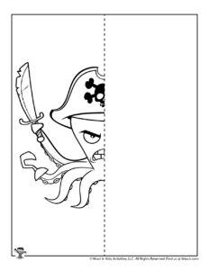 Octopus Symmetry Drawing Worksheet