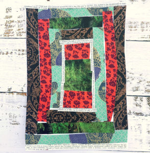 Paper Quilt Craft from Scrap Paper