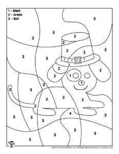 St. Patrick's Printable Coloring Page for Kids