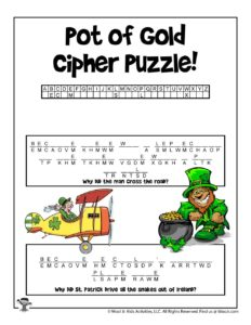 St. Patrick's Day Word Games for Kids