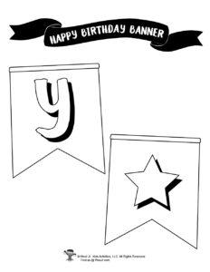 Free Birthday Party Decor Printables