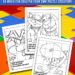 Printable Coloring Puzzles for Kids