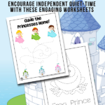 Printable Princess Activity Pages