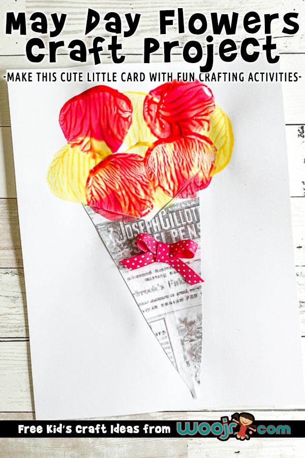 Flower Bouquet Card Craft