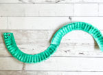 Paper Plate Worm Craft for Kids