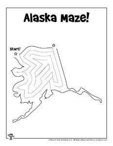 Alaska Maze Puzzle