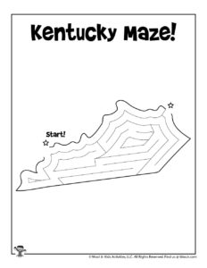 Kentucky Maze Puzzles of America