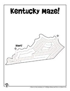 Kentucky Maze Puzzles of America - KEY
