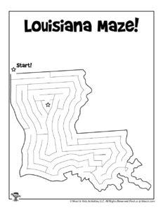 Louisiana Classroom Activity Worksheet