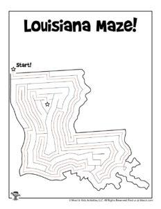Louisiana Classroom Activity Worksheet - KEY