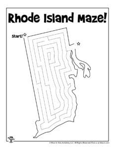 Rhode Island Fun Activity Worksheet