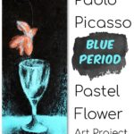 Blue Period Art Activity for Kids to Learn About Picasso