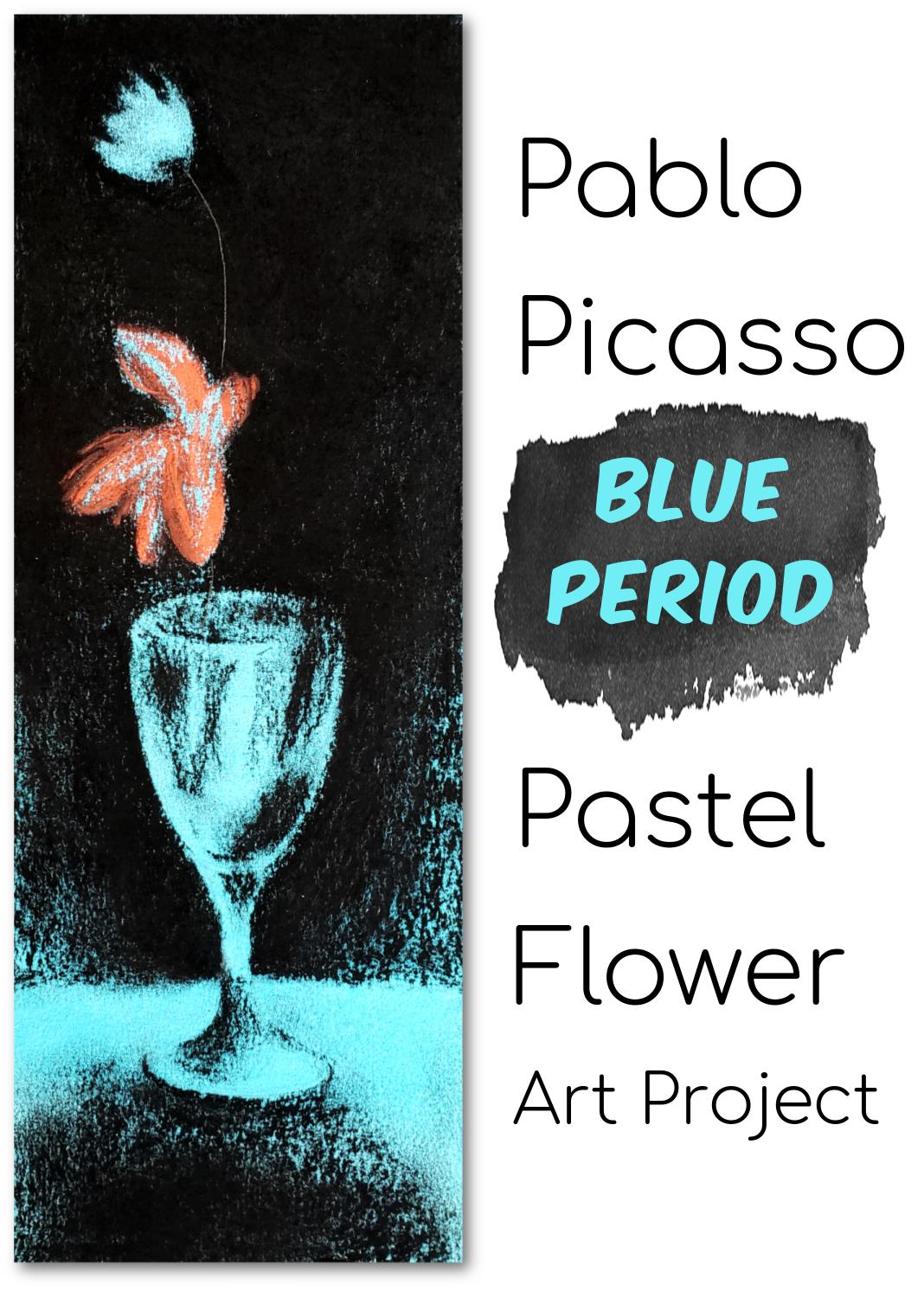 Picasso's Blue Period Art Activity for Kids