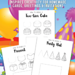 Birthday Drawing Doodles for Kids
