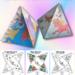 Printable Paper Unicorn Ornaments