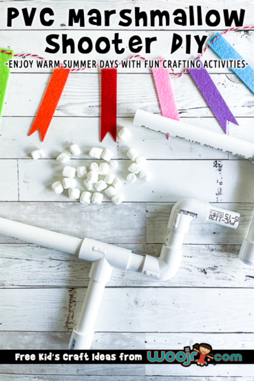 DIY Marshmallow Shooters from PVC