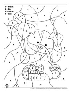 Birthday Balloons Coloring Page for Kids