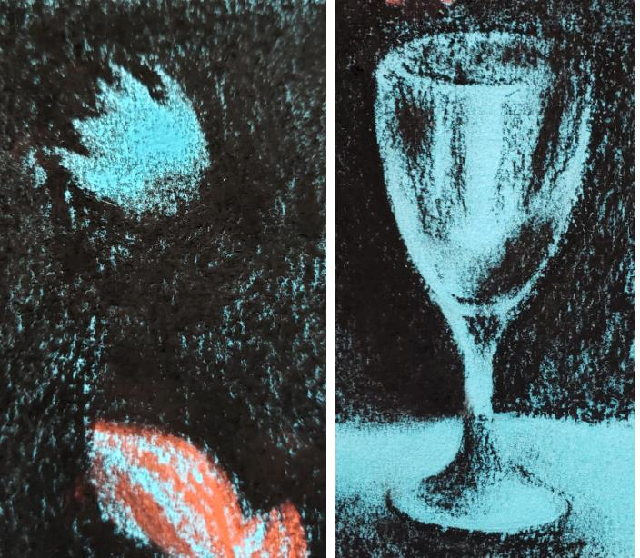 Picasso's blue period art project for tweens