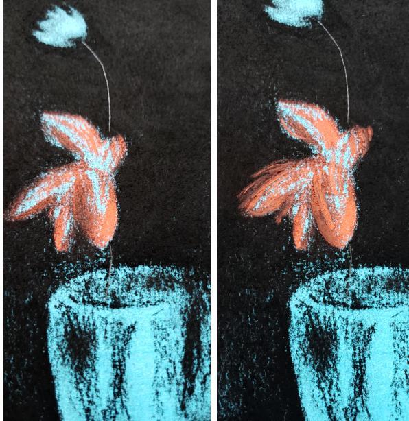 How to Make a Blue Period Art Piece
