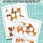 Animal Missing Puzzle Pieces Games