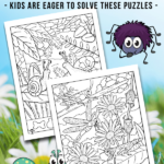 Bugs Hidden Picture Printables