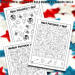 Patriotic I Spy Games For Kids
