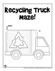 Easy Transportation Mazes for Kids