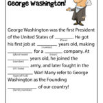Printable US History Fill In the Blank Stories