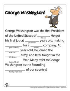 George Washington Funny Story