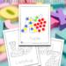 Alphabet Dot Coloring Pages