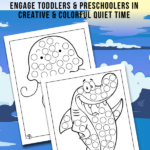 Ocean Dot Coloring Pages