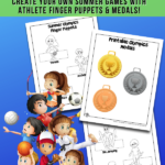 Olympics Printable Crafts for Kids