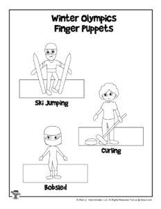 Winter Olympics Kids Craft Activities