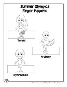 Olympics Printable Kids Activities