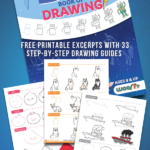 How to Draw Printables from The Big Book of Drawing for Kids