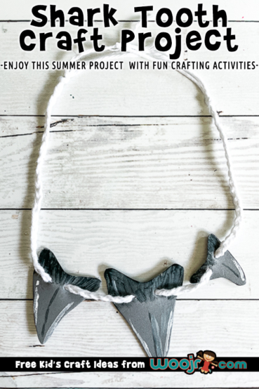 Shark Tooth Craft Necklace from Craft Foam