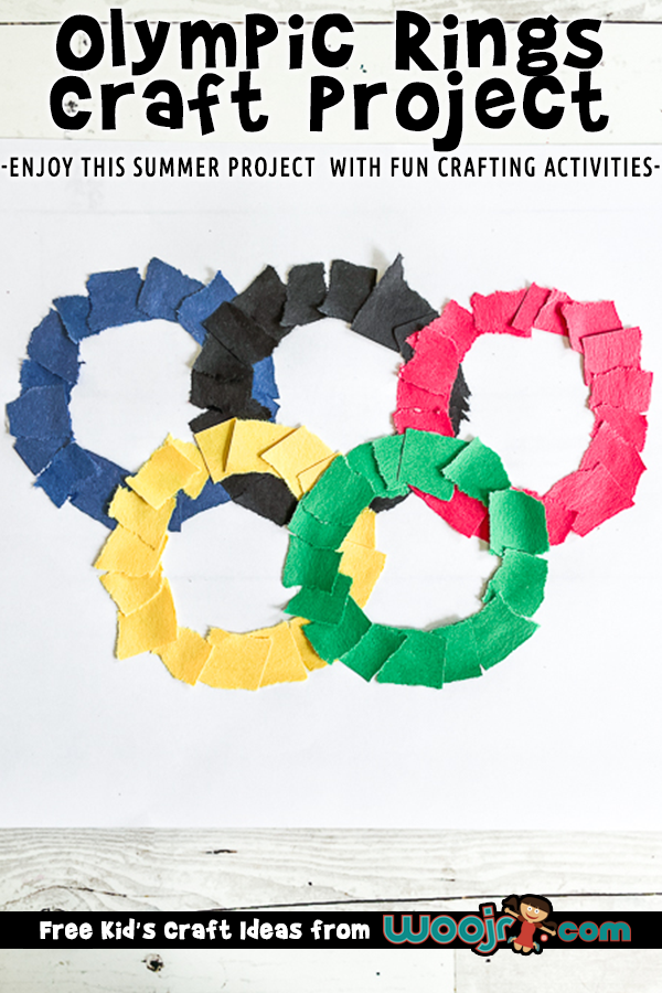 Olympic Rings Craft Project
