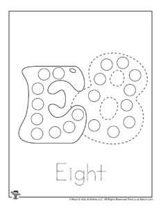 Free Printable Do a Dot Coloring Page