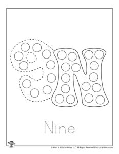 Learn the ABCs Dot Marker Tracing Pages