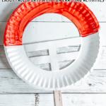 Paper Plate Football Helmet Craft