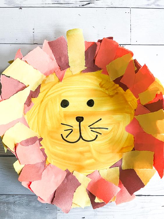 Lion Craft for Kids to Make