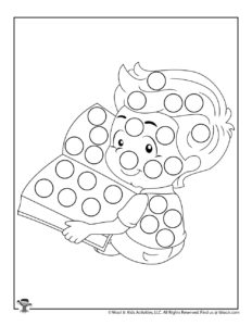 Printable Set Dot Coloring Pages