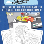 Things That Go Coloring Pages from Ready, Set, Color!